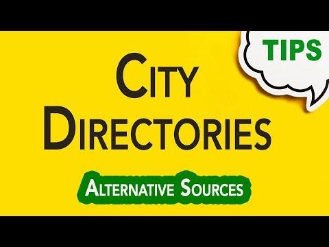 City Directories   Genealogy Clips   GC-062