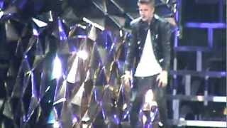 Justin Bieber - As Long As You Love Me & Baby - Believe Tour - Glendale, AZ
