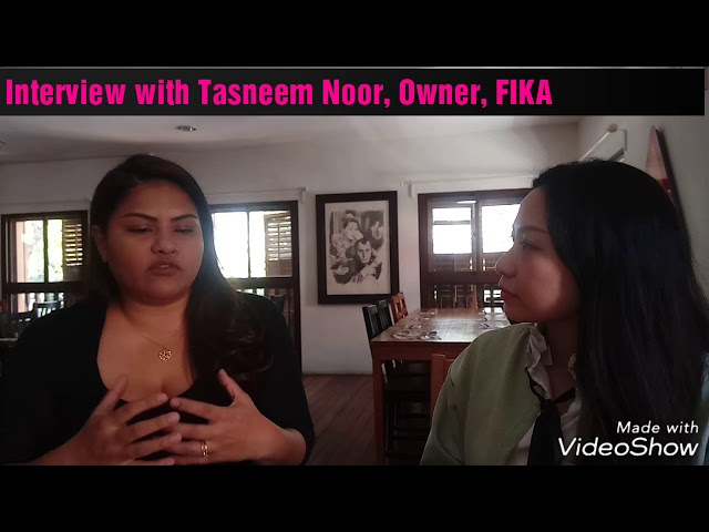 Is passion enough to sustain a food business? - Interview with Tasneem Noor