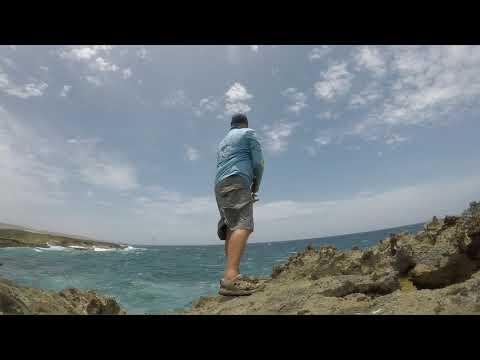 ROCK FISHING ON ARUBA