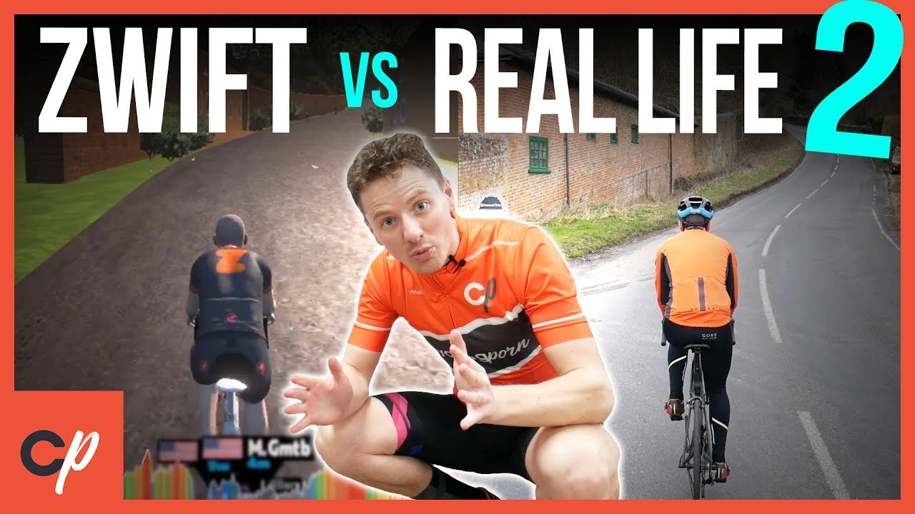 ZWIFT VS REAL LIFE: Leith Hill Challenge