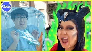 Trying Funny Face Filters with Ryan's Mommy & Daddy! Face Swap Challenge!