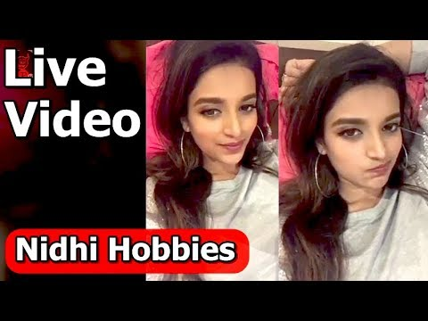 Nidhi agarwal and her hobbies - Movies...