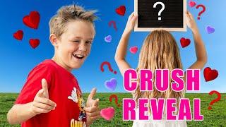 Secret Crush Reveal! Locked Away Music Video Sung by Kade Skye