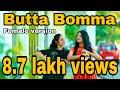 Butta Bomma - Tamil female version - Nalini vittobane   Tajmeel sherif   Darshu