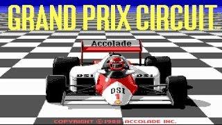 Grand Prix Circuit gameplay (PC Game, 1988)