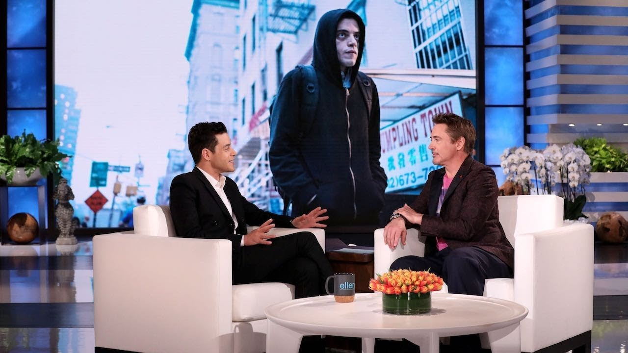 Download Rami Malek Thought He Was Being Pranked by a Fake Robert Downey Jr.