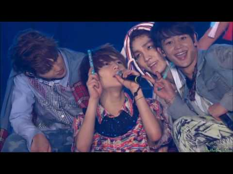 SHINee -  A-Yo @ SHINee World Concert II.