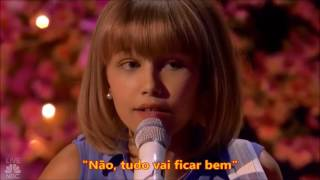 Grace Vandewaal cantando Beautiful Things