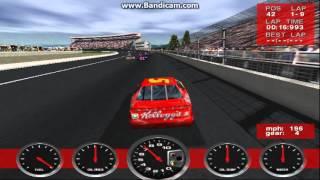 NASCAR Revolution (PC) Race #16 Gameplay (Terry Labonte) (Atlanta) (9 Laps)