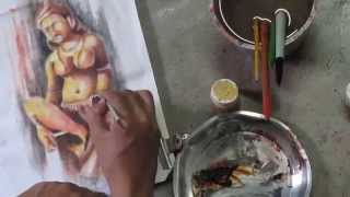 Learn Online Fabric Painting courses Part 8 of 8 By Prasanta Kar
