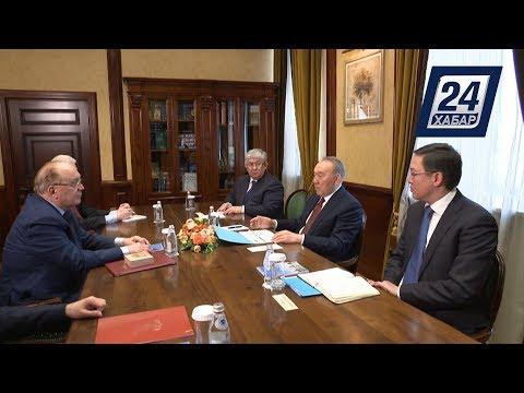 Нурсултан Назарбаев посетил