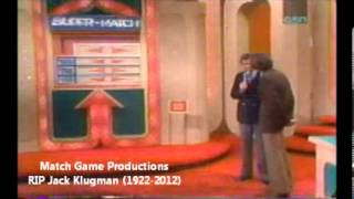 Match Game 73 (Episode 88) (RIP Jack Klugman)