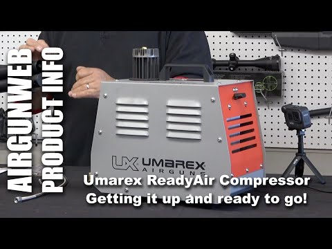 ReadyAir Personal Compressor - Getting the Ready Air Setup and READY to AIR up your Airguns!
