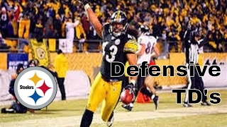 Pittsburgh Steelers | Defensive TD's (Since 2008)