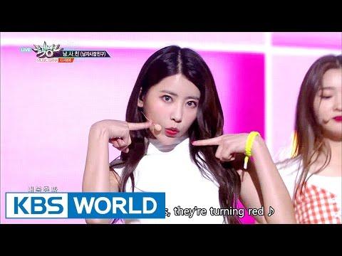 DIA - Boyfriend | 다이아 - 남.사.친 (남자사람친구) [Music Bank COMEBACK / 2017.04.21]