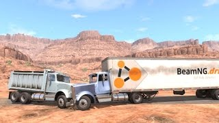 BeamNG Drive - Dump Truck Crash Tests