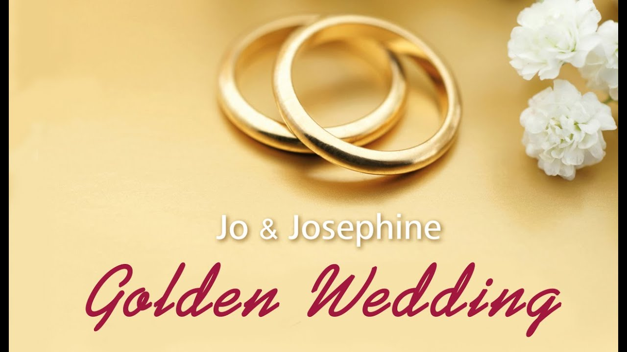 Golden Wedding Song 50th Wedding Anniversary Song Waltz Youtube