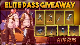 NEW ELITE PASS GIVEAWAY  AT 86k  FREE FIRE LIVE-FREE FIRE LIVE TELUGU-FREE FIRE LIVE