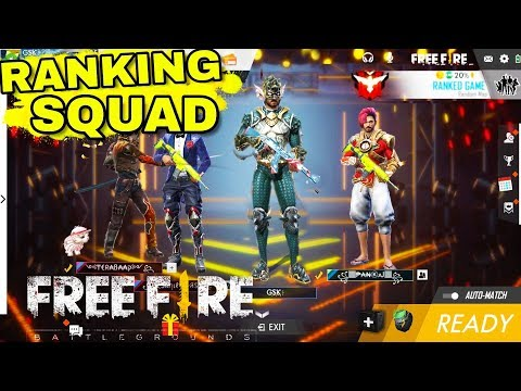 Free Fire Live | SOLO VS SQUAD Rank | Heroic Game Play (INDIA)