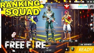 Free Fire Live   SOLO VS SQUAD Rank   Heroic Game Play (INDIA)