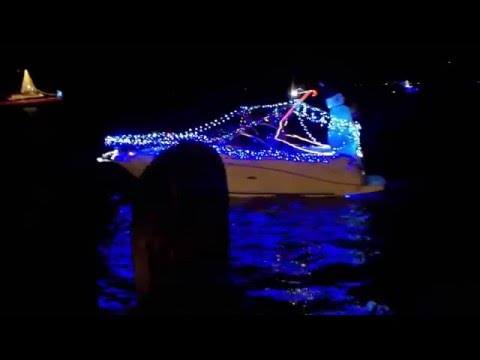 Pensacola Christmas Boat Parade of Lights ~ Pensacola, Fl 2015
