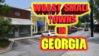Top 10 worst small towns in Georgia, USA.  A couple Walking Dead towns. thumbnail