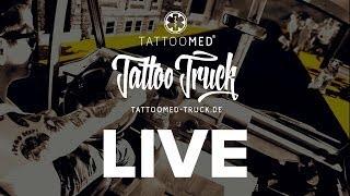 Livestream aus dem TattooMed Tattoo Truck-Cosmoprof Bologna