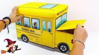 De Vuelta al Cole 👩🎓 School Bus Lleno de Colores Pegatinas ...