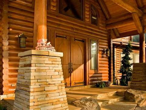 The most beautiful log home in america youtube Beautiful homes com