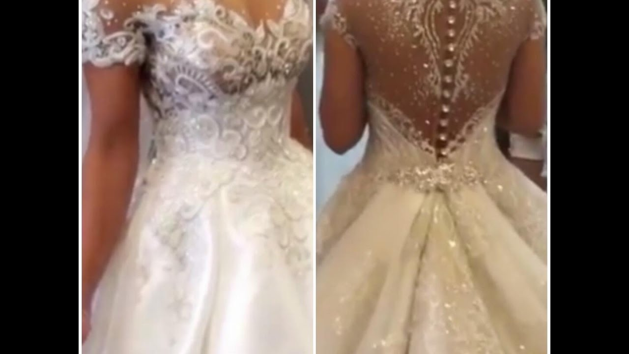 Sparkling Wedding Dress (Part 4) - YouTube