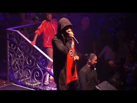 Mike Jones performing at LAX Nightclub on 10 13 16