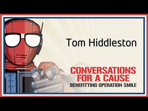 Conversation with Tom Hiddleston - Nerd HQ (2013) HD
