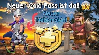 Ich kaufe mir den neuen Gold Pass😱, 33 mio. Gold und Elex?◇Clash of Clans [Deutsch/German]