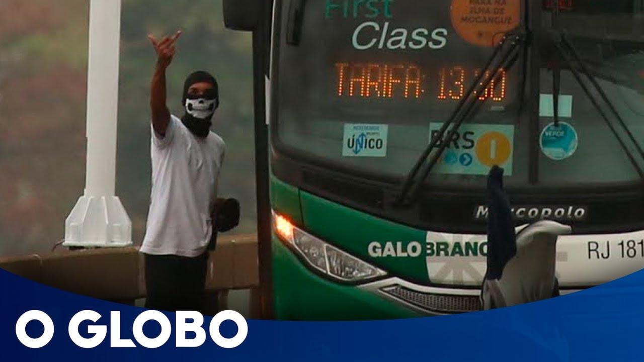 JORNAL O GLOBO - Sequestrador de ônibus é morto por sniper no Rio de Janeiro
