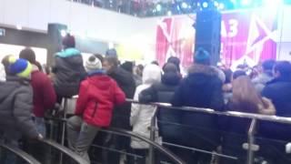 Прикол на открытие ТРК Алмаз город Челябинск.