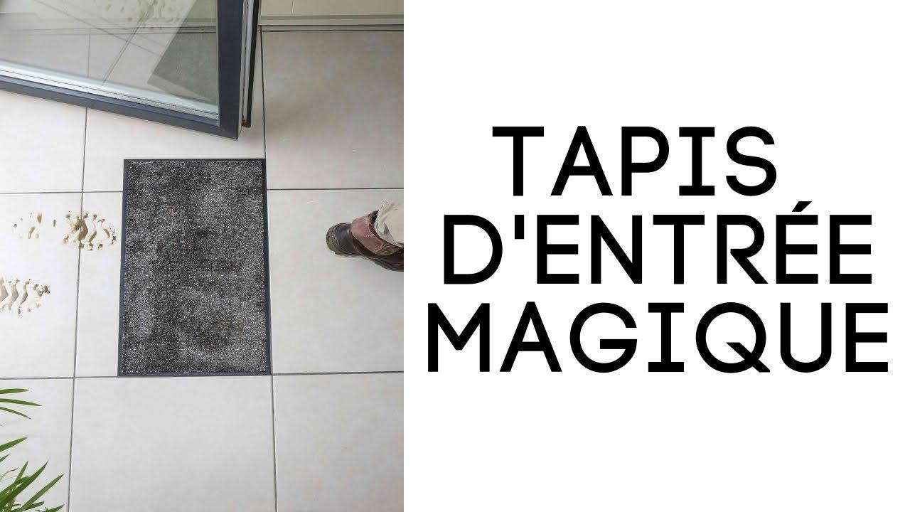 Tapis D Entree Super Absorbant Demonstration Et Test Reel Youtube