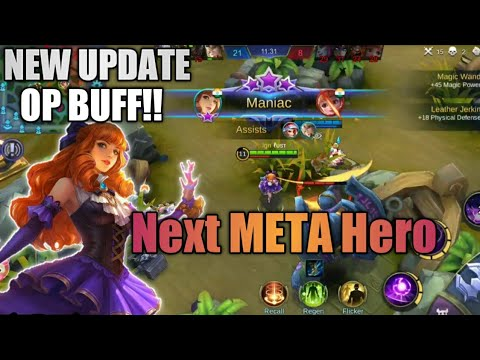 This HERO will change the META!! Guinevere's OP Buff | Mobile Legends Bang Bang
