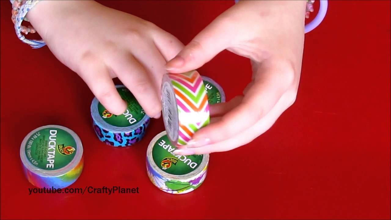 Mini duct tape roll haul ducklings mini rolls duct tape for Mini duct tape crafts