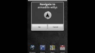 Google Maps Navigation (Beta): search by voice