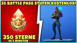 How to get 350 Battle Pass stars for FREE in 5 minutes! | Unlock 35 levels! - Fortnite