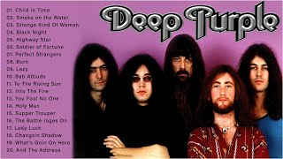 Deep Purple : Deep Purple Greatest Hits Full Album Live | Best Songs Of Deep Purple