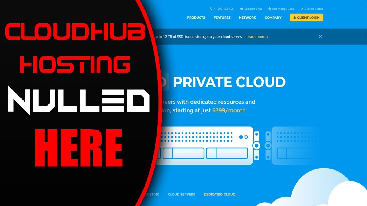 Cloudhub Hosting and Technology HTML Template nulled