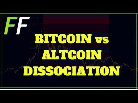 ✅ BITCOIN vs ALTCOIN DISSOCIATION