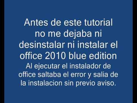 Como Solucionar Error Office 2010 Idioma Del Paquete No Es Compatible Con Su Sistema Windows 8