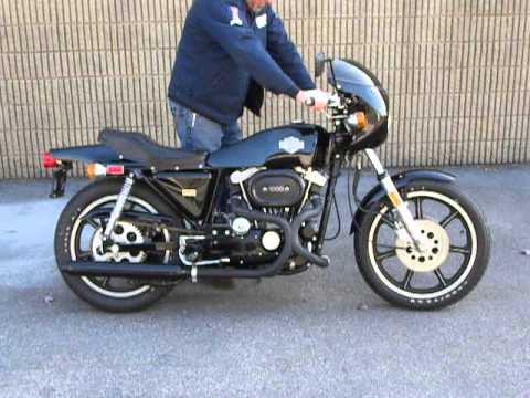 1977 harley davidson xlcr cafe racer - youtube