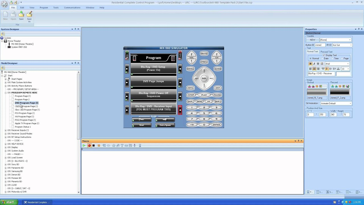 mx 900 remote software download