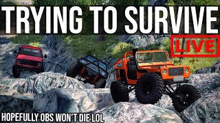 Trying To Survive Your BeamNG Challenges