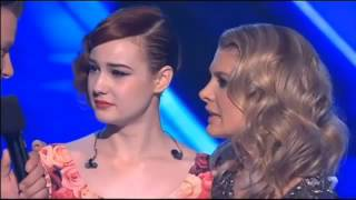 Bella Ferraro - Thank You Speech - X Factor live shows