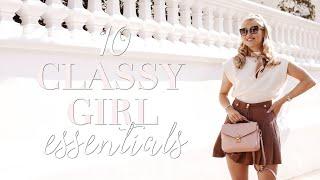 10 Classy Girl Essentials ~ Freddy My Love